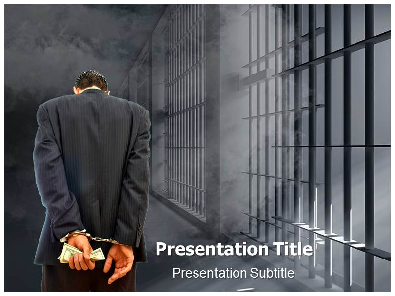 Criminal Punishment Powerpoint Templates